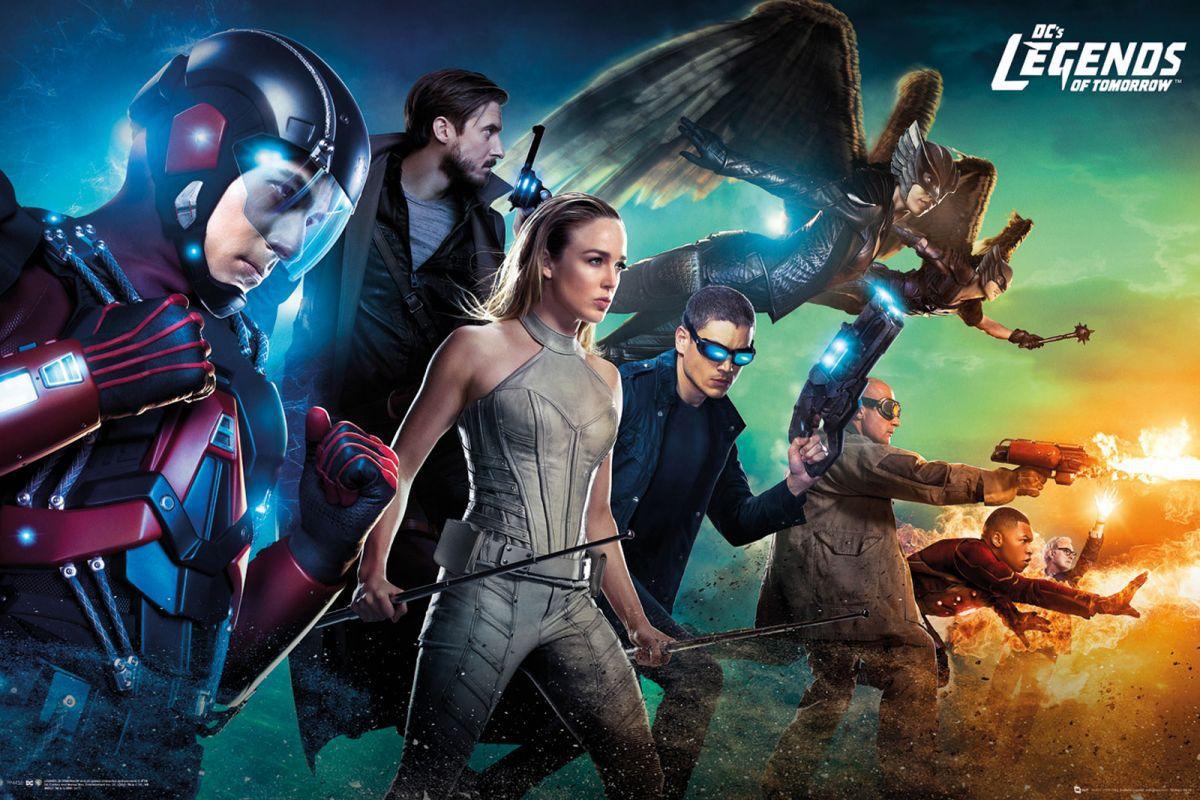 Dc Comics Legends Of Tomorrow Plakat